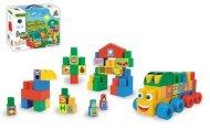 WADER Stavebnice Middle Blocks - 33 ks