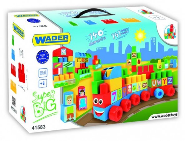 WADER Kostky Middle Blocks - 140 ks