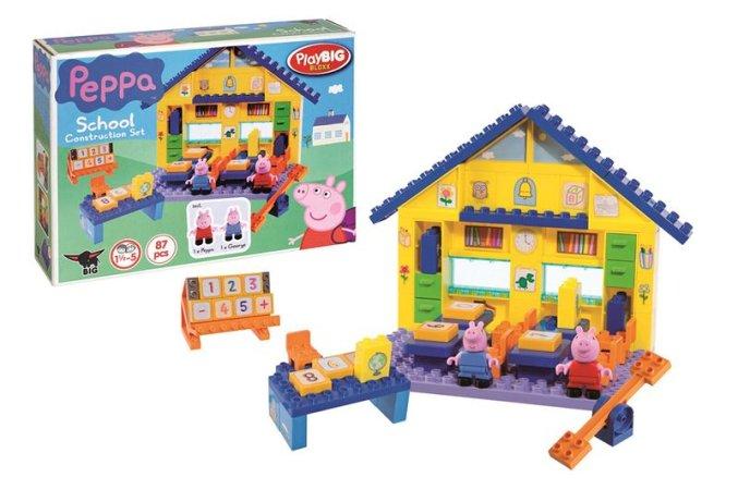 Big PlayBig Bloxx - Peppa Pig - Škola