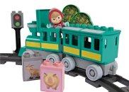 Big PlayBig Bloxx - Máša a medvěd - Vláček Máša a medvěd