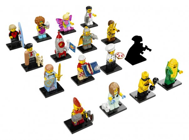 LEGO Minifigurky 17. série