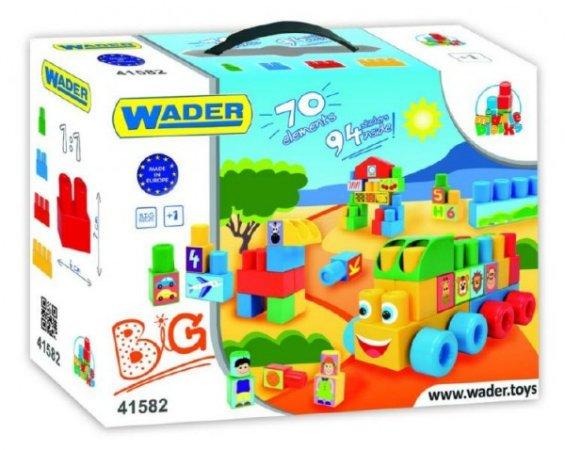 WADER Kostky Middle Blocks - 70 ks