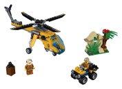 LEGO City 60158 - Nákladní helikoptéra do džungle