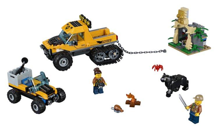 LEGO City 60159 - Obrněný transportér do džungle