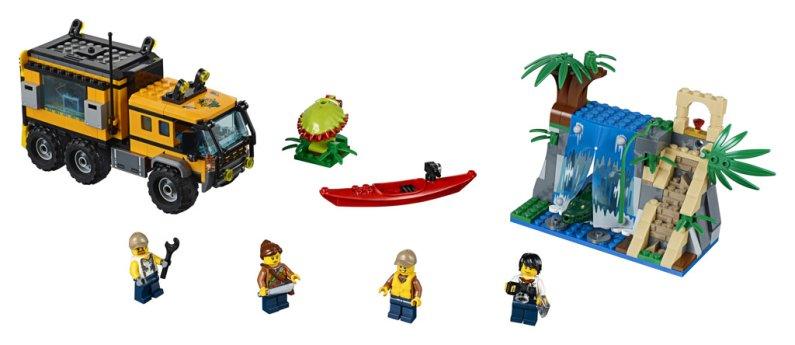 LEGO City 60160 - Mobilní laboratoř do džungle
