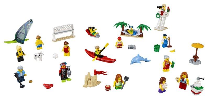 LEGO City 60153 - Sada postav - Zábava na pláži