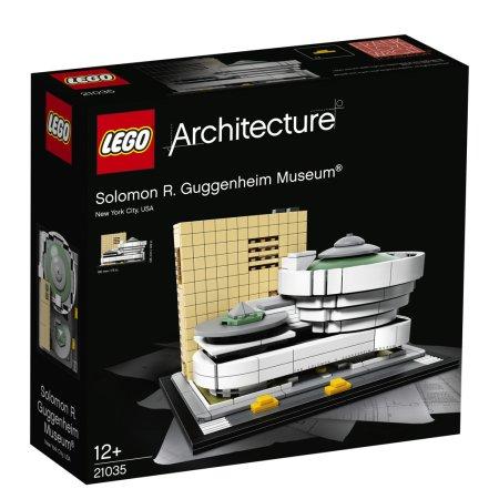 LEGO Architecture 21035 - Guggenheimovo muzeum
