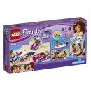 LEGO Friends 41316 - Andrein vůz s přívěsem pro člun