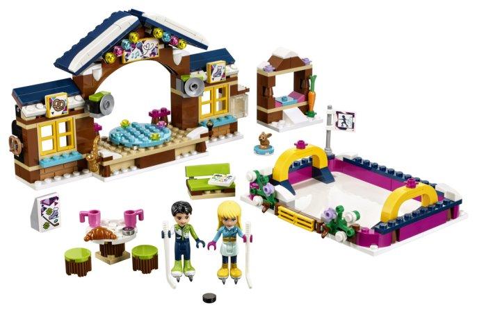 LEGO Friends 41322 - Kluziště v zimním středisku - Výprodej