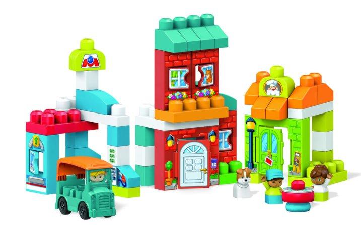 Mattel Mega Bloks - Den ve městě