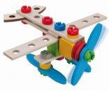 Simba Toys HEROS Constructor Letadlo/Helikoptéra - 40 dílů