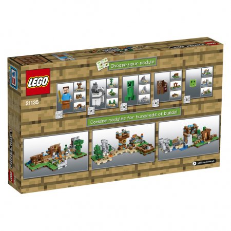 LEGO Minecraft 21135 - Kreativní box 2.0