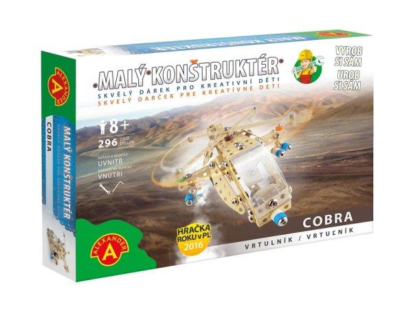 Pexi Malý konstruktér - Vrtulník Cobra - Pouštní bouře
