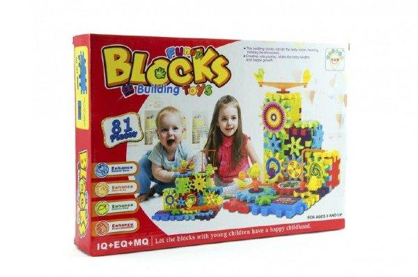 Teddies Stavebnice Funny Blocks - 81 ks