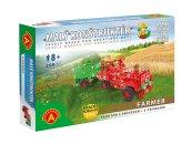 Alexander Stavebnice Malý konstruktér - Farma - Traktor s přívěsem
