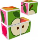 Geomag Stavebnice Geomag - Magicube Ovoce