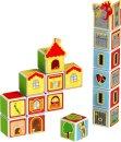 Geomag Stavebnice Geomag - Magicube Domy a hrady - poslední kus