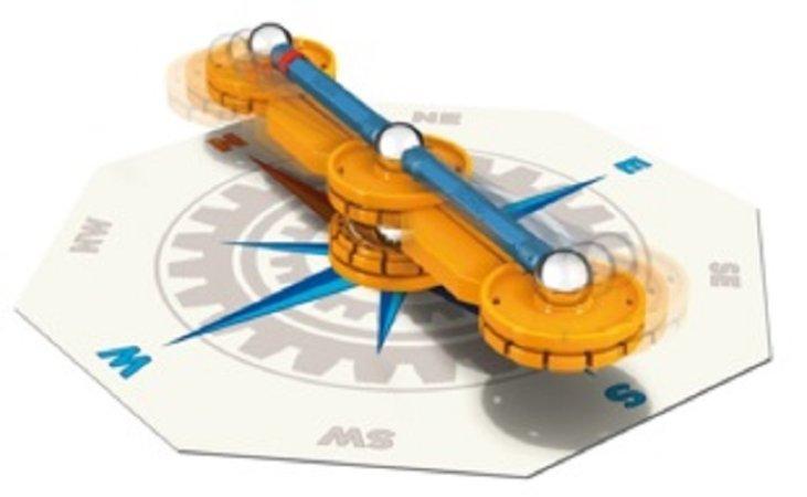 Geomag Stavebnice Mechanics Compass 21