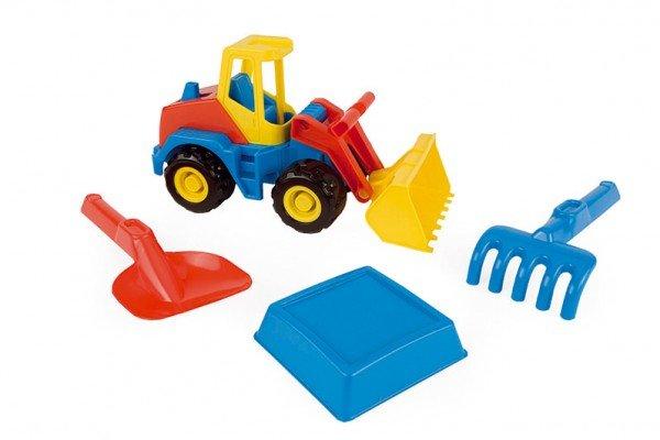 WADER Auto stavební + sada na písek