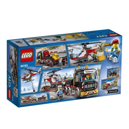 LEGO City 60183 - Tahač na přepravu těžkého nákladu