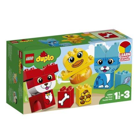 LEGO Duplo 10858 - Moji první skládací mazlíčci