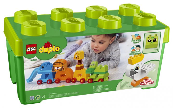 LEGO Duplo 10863 - Můj první box se zvířátky