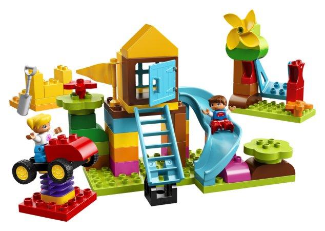 LEGO Duplo 10864 - Velký box s kostkami na hřiště