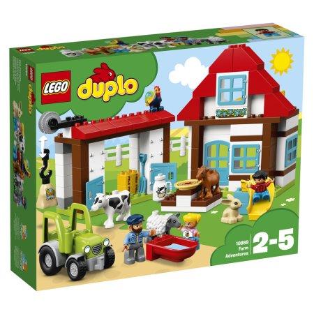 LEGO Duplo 10869 - Dobrodružství na farmě