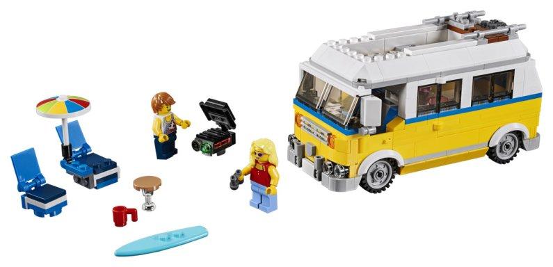 LEGO Creator 31079 - Surfařská dodávka Sunshine 3v1