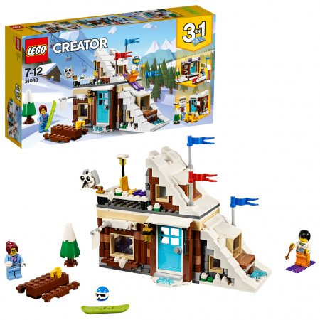 LEGO Creator 31080 - Zimní prázdniny 3v1