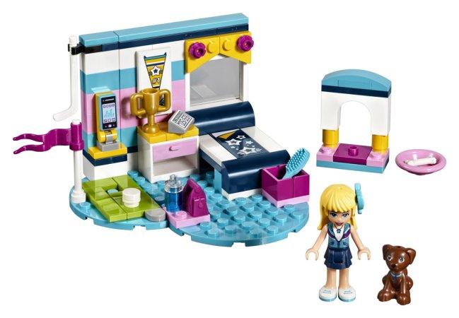 LEGO Friends 41328 - Stephanie a její ložnice