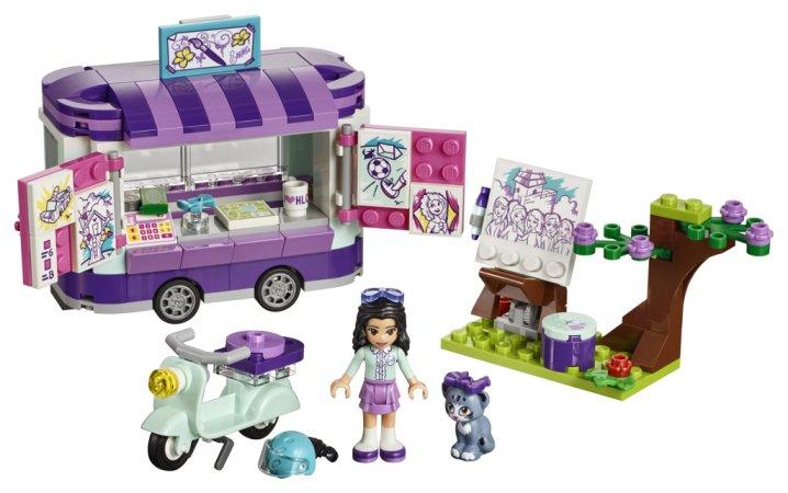LEGO Friends 41332 - Emma a umělecký stojan