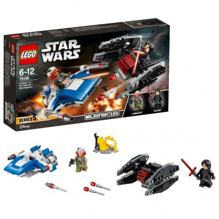 LEGO Star Wars 75196 - Stíhačka A-Wing vs. mikrostíhačka TIE Silenc