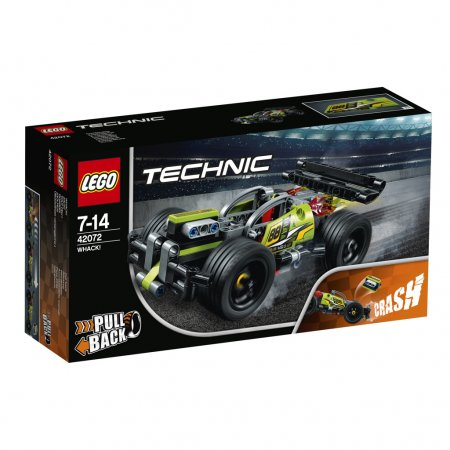 LEGO Technic 42072 - Zelený závoďák