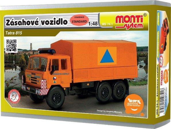 Seva Monti System - Tatra 815 - Zásahové vozidlo MS 74.1