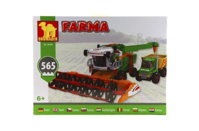 Dromader Stavebnice Farma kombajn - 565 ks
