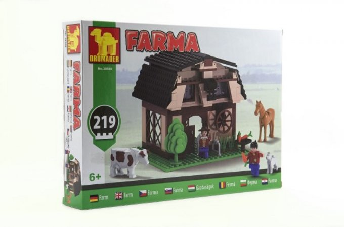 Dromader Stavebnice Farma - 219 ks