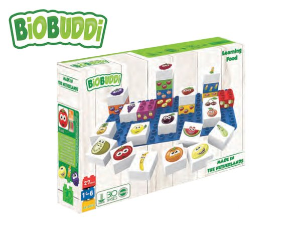 BiOBUDDi Stavebnice Learning Food Young Ones - Ovoce