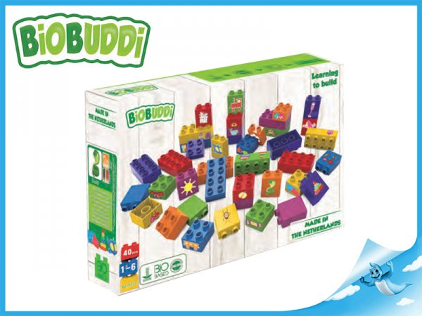 BiOBUDDi Stavebnice Learning To Build Young Ones - Obrázky