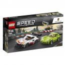 LEGO Speed Champions 75888 - Porsche 911 RSR a 911 Turbo 3,0
