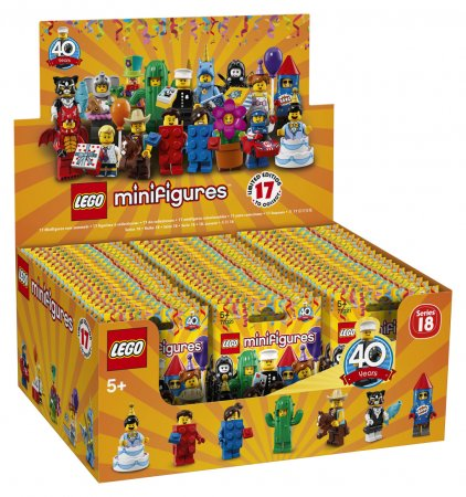 LEGO Minifigurky 71021 - 18. série: Párty - Výprodej
