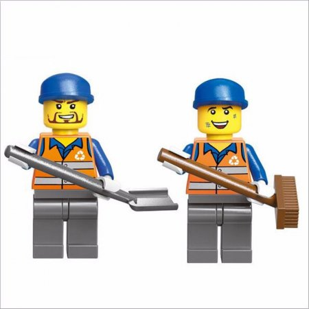 Enlighten Brick Stavebnice - Popelářský vůz - 196 dílů
