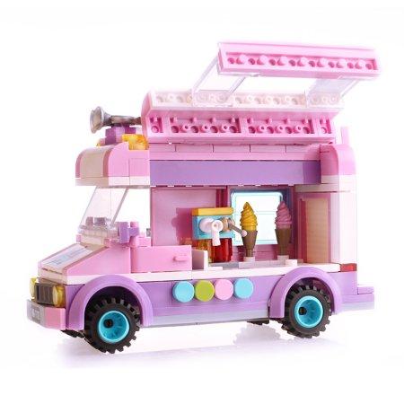 Enlighten Brick Stavebnice - Zmrzlinářská dodávka - 213 dílů