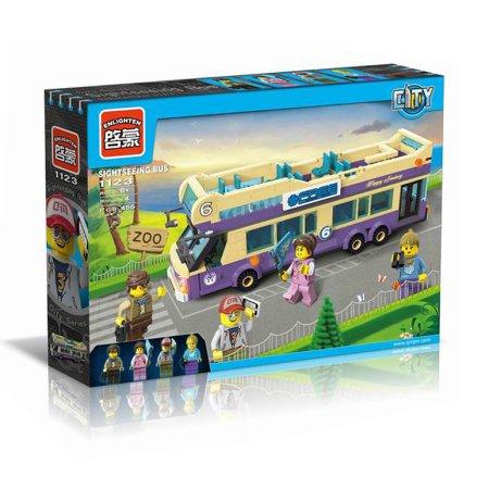 Enlighten Brick Stavebnice - Turistický autobus - 455 dílů