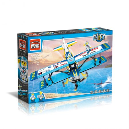 Enlighten Brick Stavebnice - Kaskadérské letadlo - 354 dílů