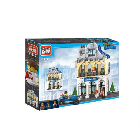 Enlighten Brick Stavebnice - Hotel Sunshine - 628 dílů