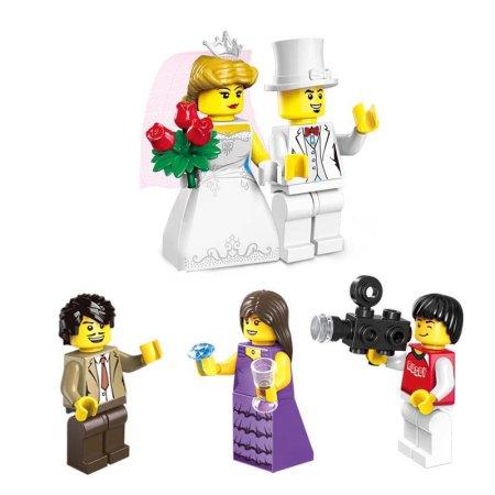 Enlighten Brick Stavebnice - Svatební obřad - 613 dílů
