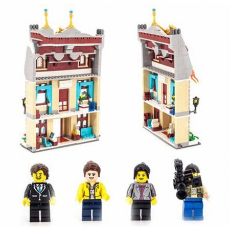 Enlighten Brick Stavebnice - Hotel City Hall - 742 dílů
