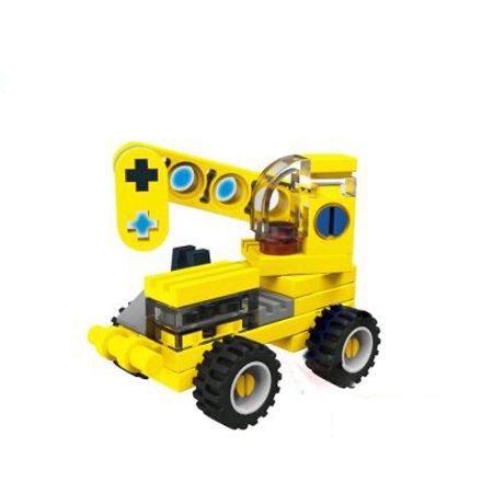 Enlighten Brick Stavebnice Mini  - Jeřáb - 31 dílů