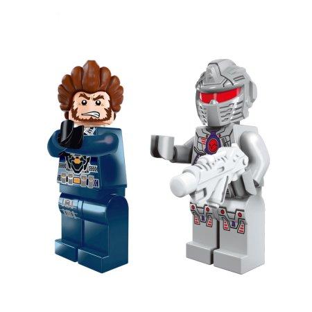 Enlighten Brick Stavebnice - Kosmická policie - 213 dílů
